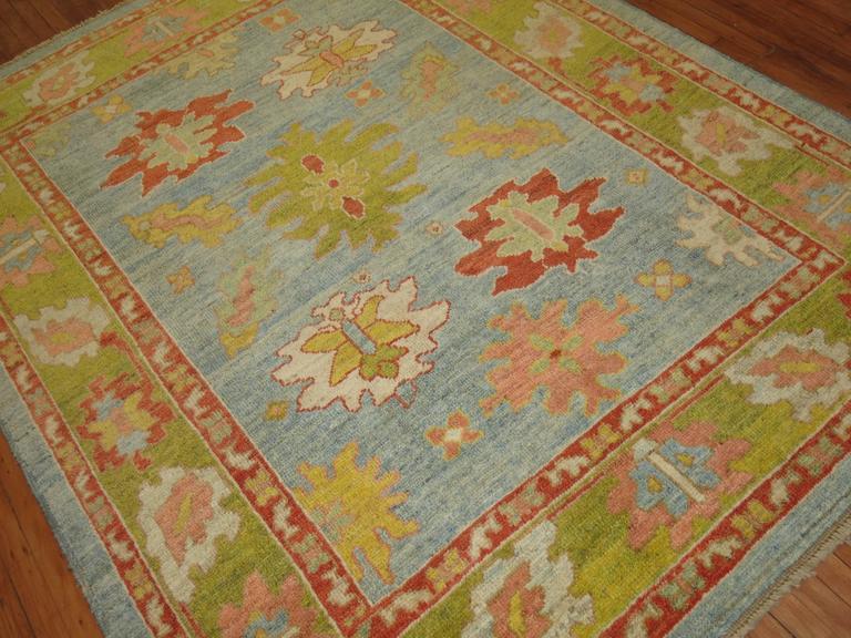 Turkish Oushak Carpet 8