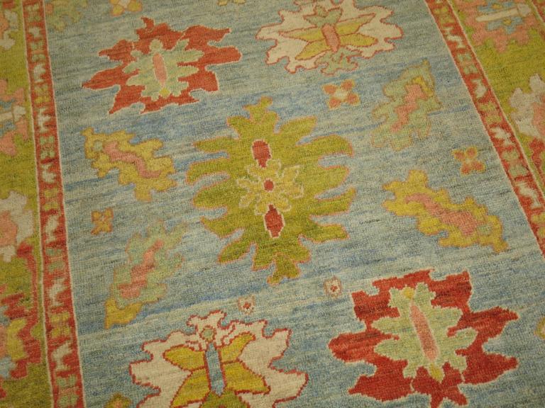 Turkish Oushak Carpet 9