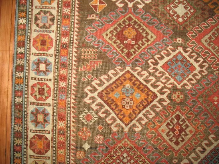 Decorative Antique Shirvan Caucasian Rug 2