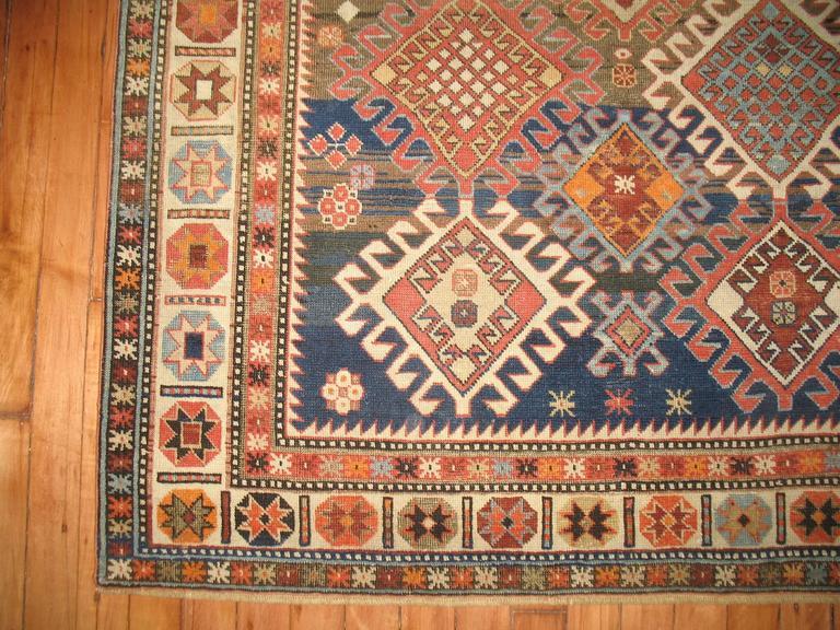 Decorative Antique Shirvan Caucasian Rug 7