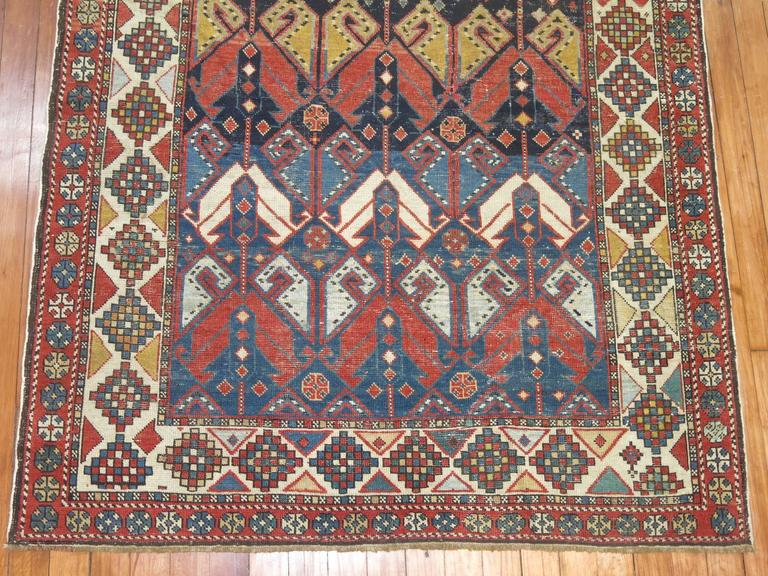 Antique Shirvan Rug 4