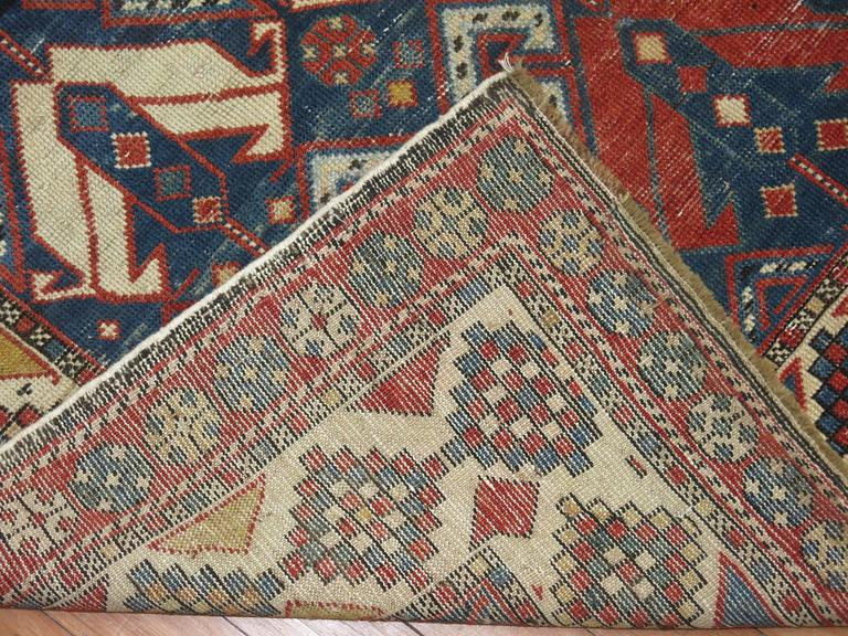 Antique Shirvan Rug 5