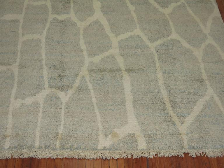 Contemporary Turkish Modernist Rug For Sale