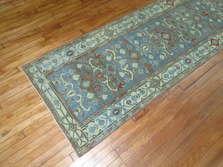 Tabriz Persian Malayer Long Runner For Sale