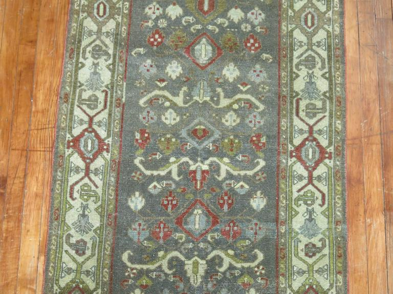 Persian Malayer Long Runner In Excellent Condition For Sale In New York, NY