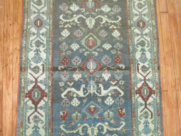 20th Century Persian Malayer Long Runner For Sale