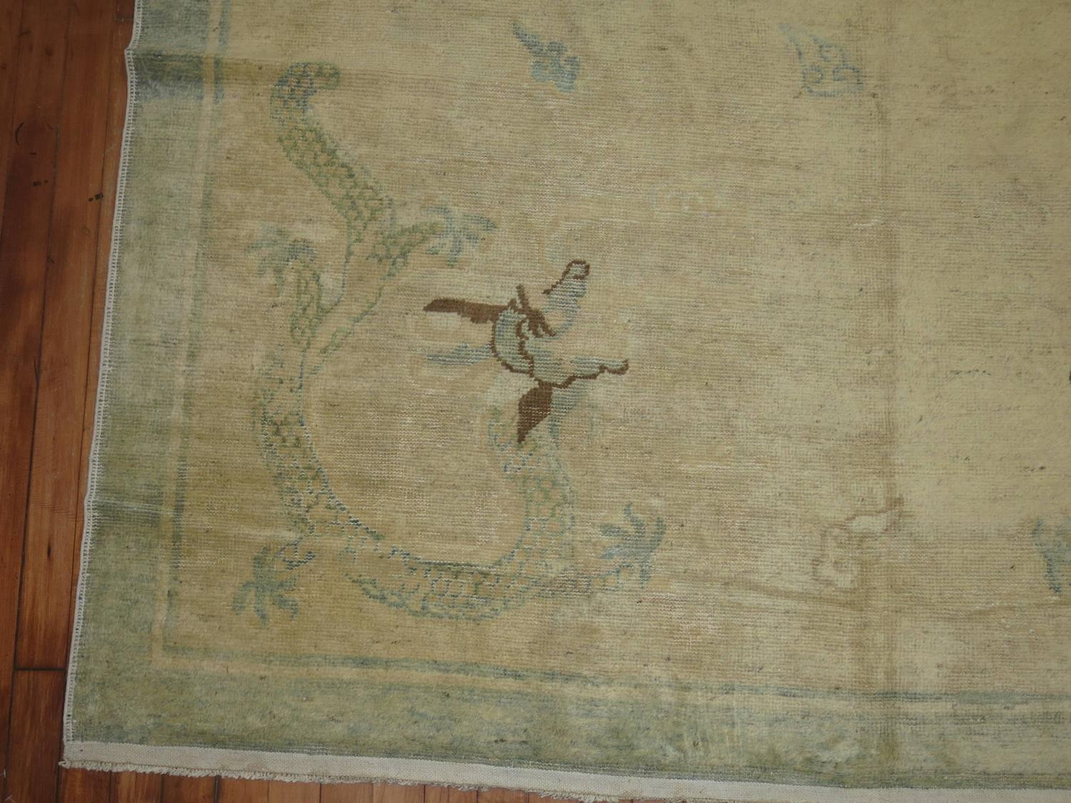 Dragon Chinese Peking Rug For Sale At 1stdibs