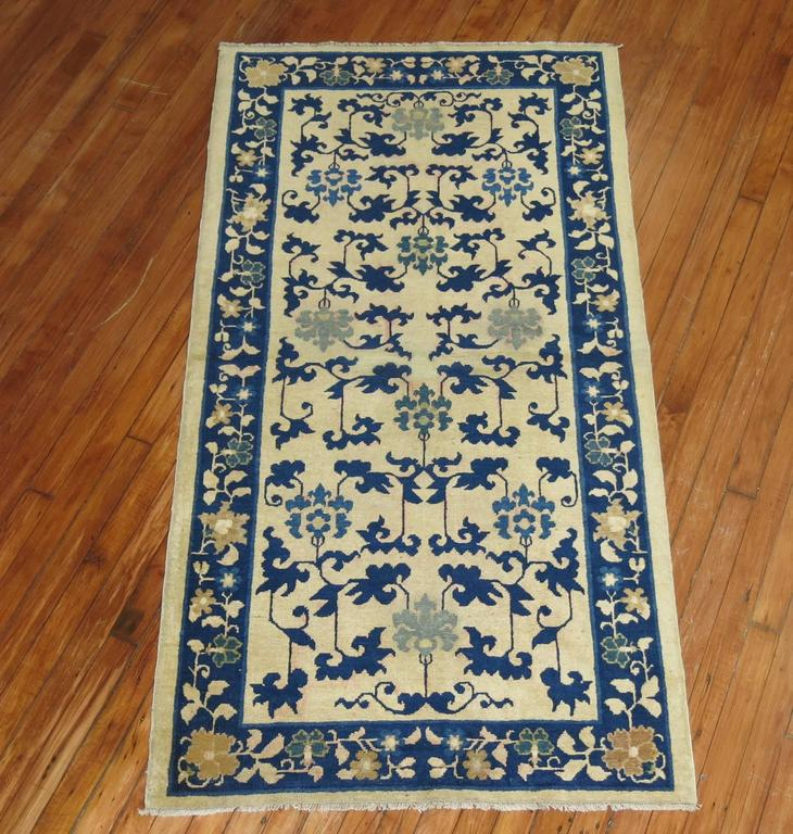 Chinese Peking Throw Rug For Sale At 1stdibs
