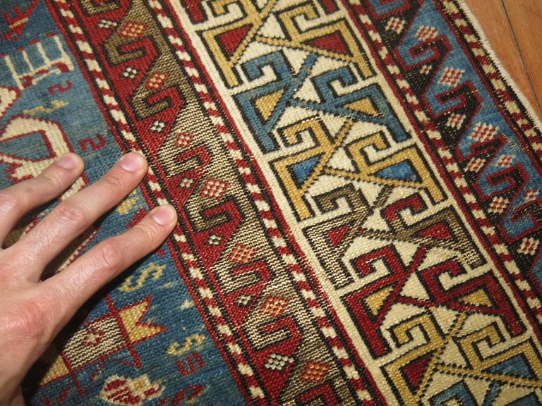 Kazak Caucasian Shirvan Rug For Sale