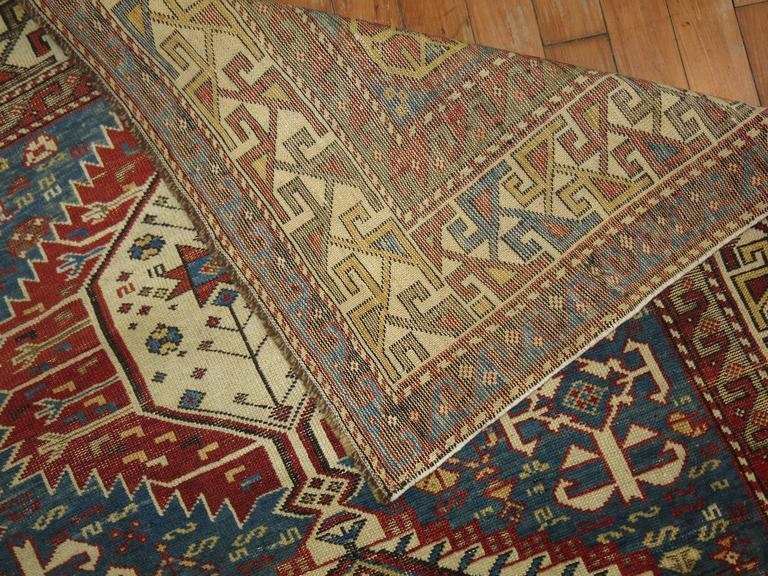 Wool Caucasian Shirvan Rug For Sale