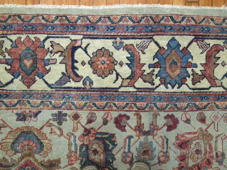 Sultanabad Persian Mahal Rug For Sale