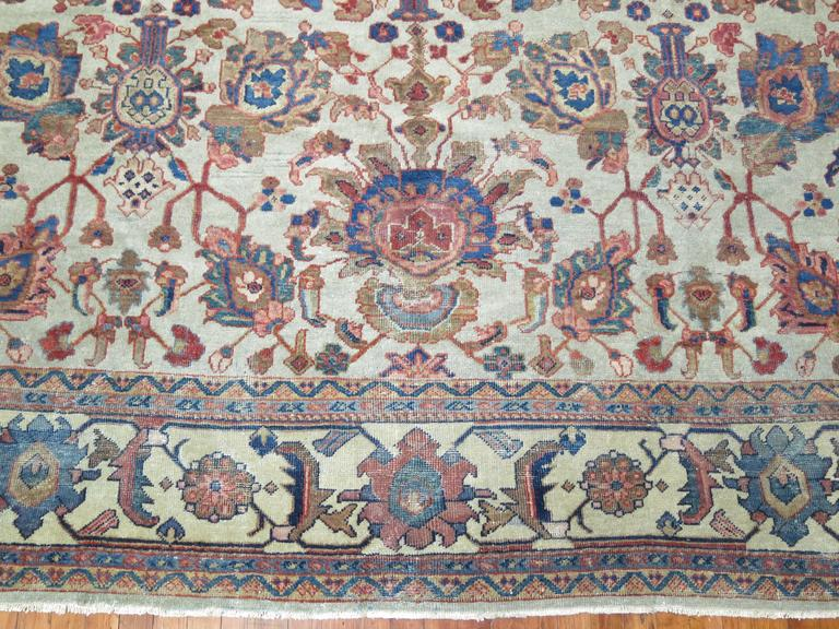 Early 20th Century Persian Mahal Rug For Sale