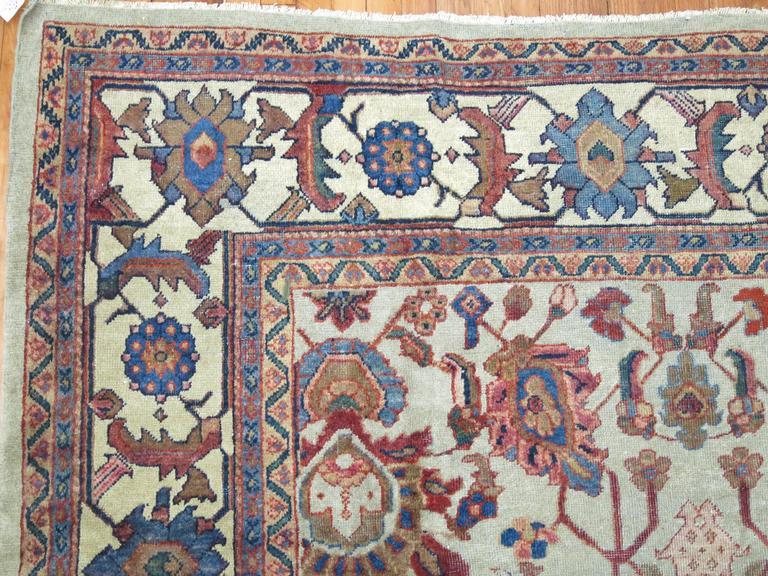 Persian Mahal Rug For Sale 2