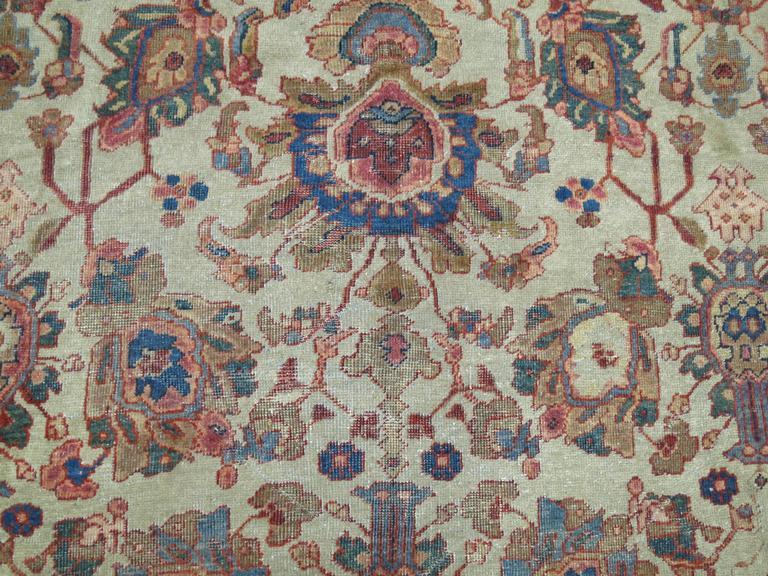 Persian Mahal Rug For Sale 3
