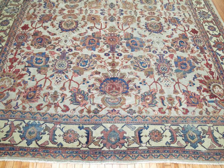 Persian Mahal Rug For Sale 1