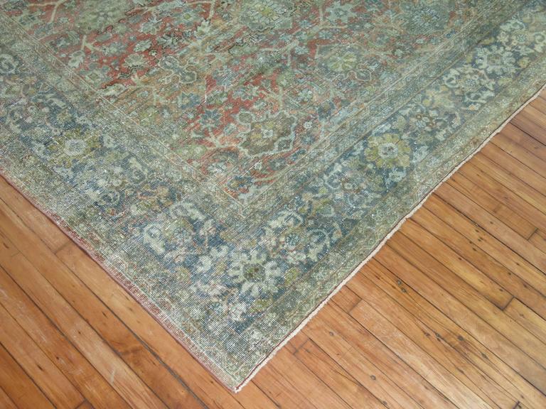 Shabby Chic Persian Mahal Carpet 8