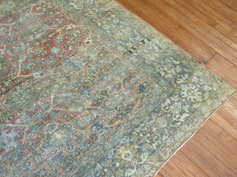 Shabby Chic Persian Mahal Carpet 7
