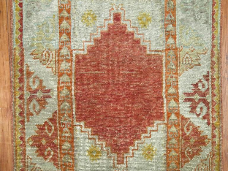Antique Turkish Ghiordes Rug 3