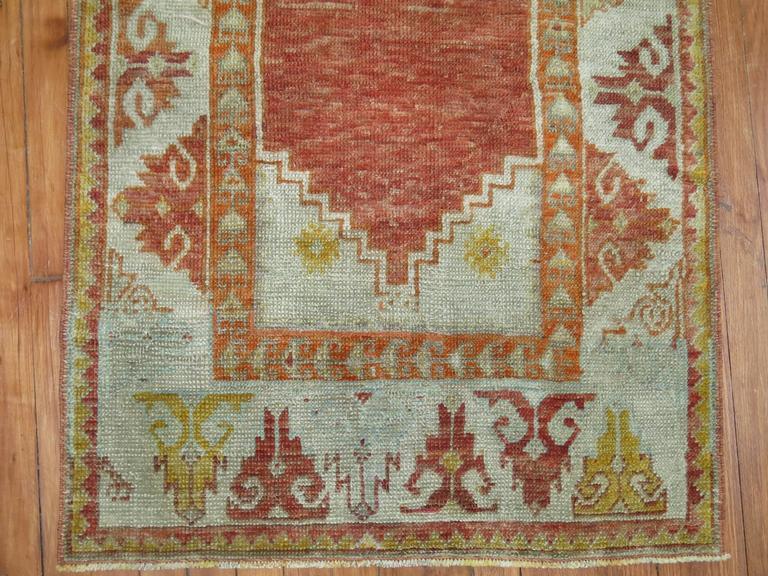 Antique Turkish Ghiordes Rug 2