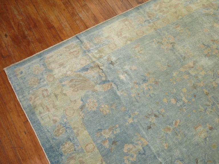 1920 Oriental Peking Chinese Rug Carpet Art Deco Natural