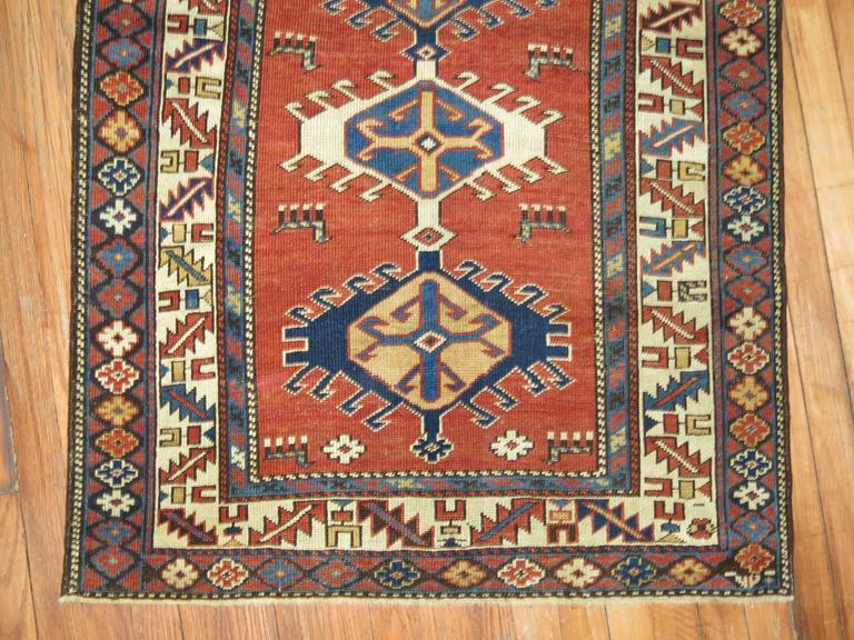 Caucasian Antique Shirvan Rug For Sale