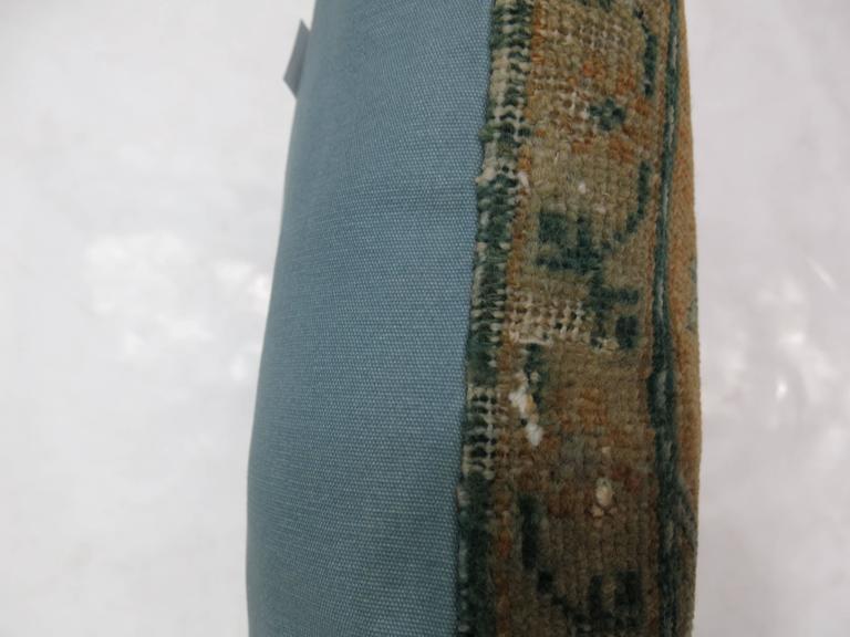 Pillow made from Turkish Anatolian prayer rug.