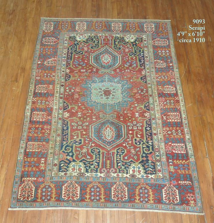 Persian Serapi Rug For Sale At 1stdibs