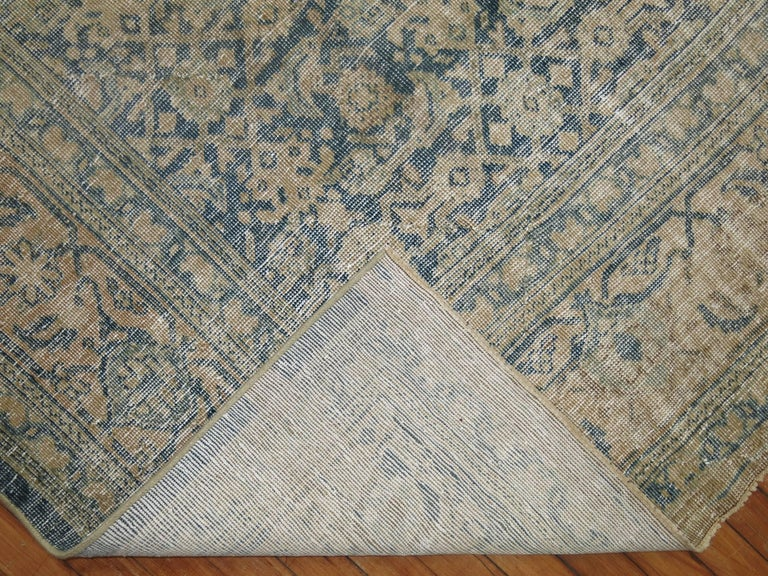 20th Century Shabby Chic Persian Malayer Rug For Sale