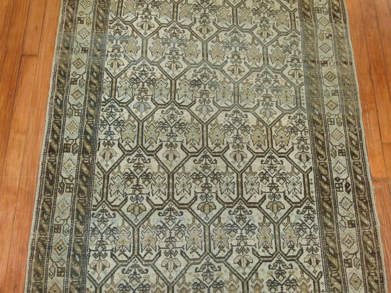 Persian Malayer Earth Tone Runner 3