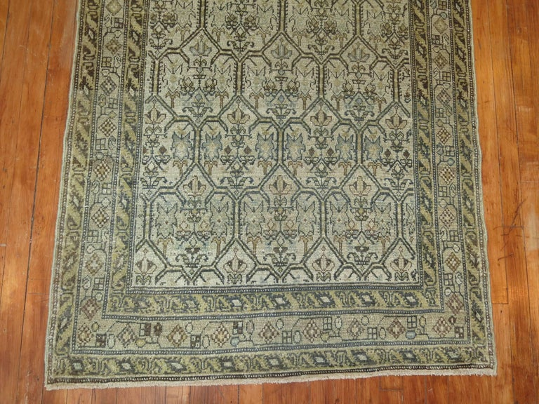 Persian Malayer Earth Tone Runner 5