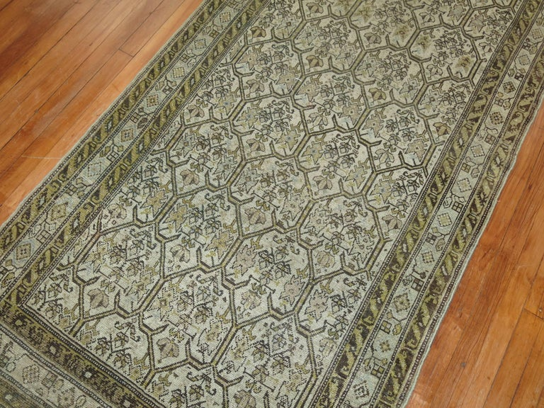 Persian Malayer Earth Tone Runner 6
