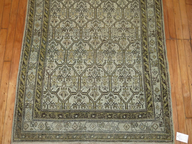 Persian Malayer Earth Tone Runner 8