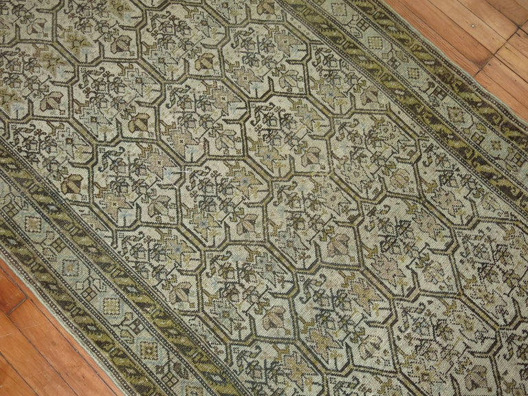 Persian Malayer Earth Tone Runner 9