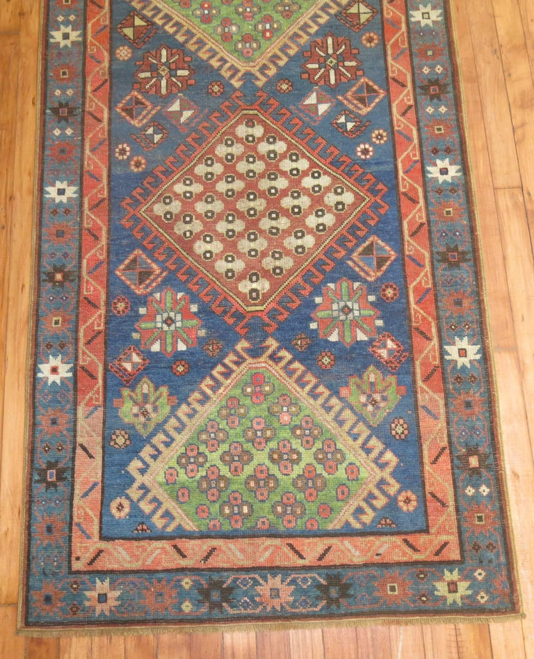 Antique Kazak Runner 4