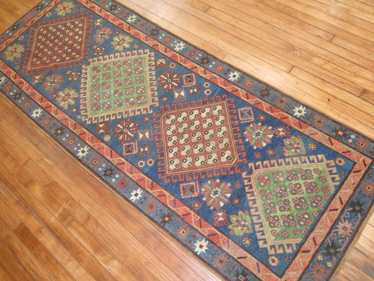 Antique Kazak Runner 5