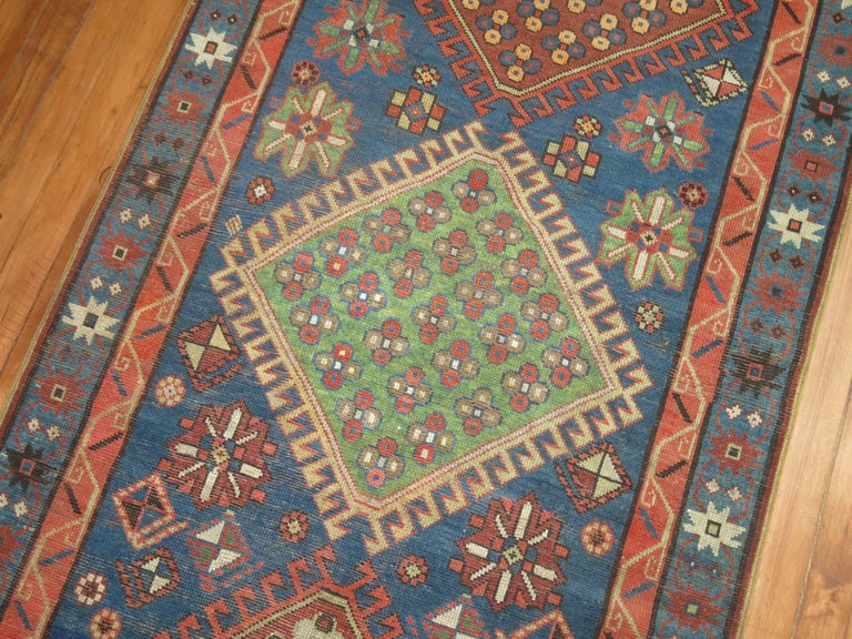 Antique Kazak Runner 6