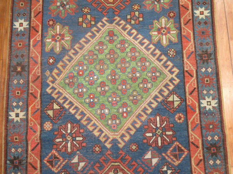 Antique Kazak Runner 7