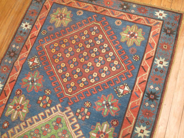 Antique Kazak Runner 8