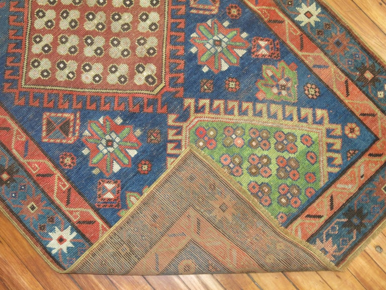 Antique Kazak Runner 9