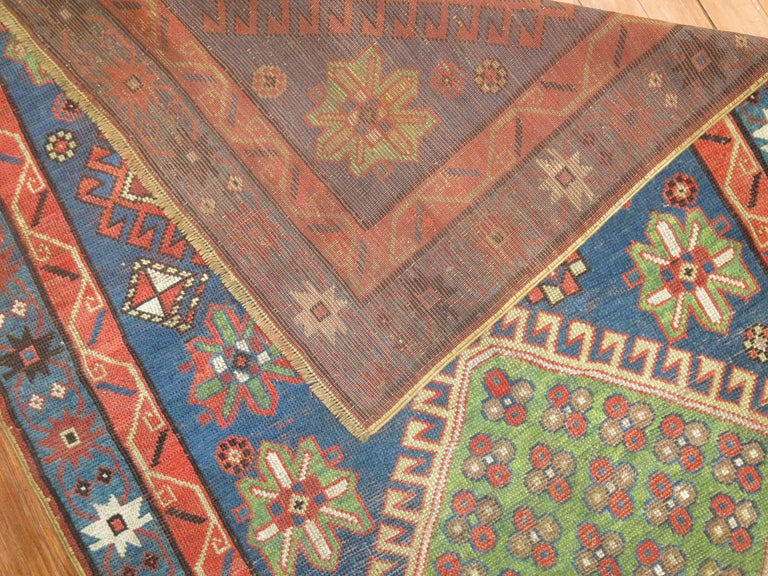 Antique Kazak Runner 2