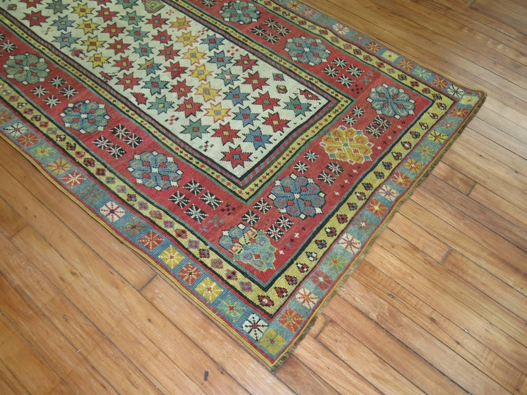 Persian Antique Caucasian Talish Runner For Sale