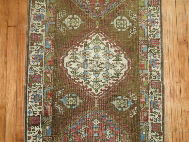 Persian Serab Runner In Good Condition For Sale In New York, NY