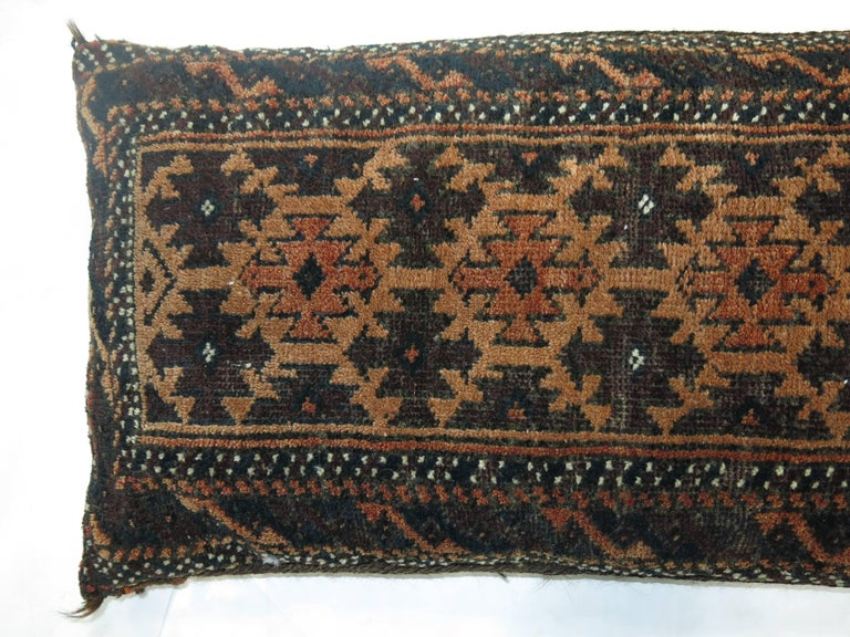 Tribal Balouch Rug Pillow For Sale