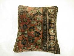 Persian Sarouk Rug Pillow