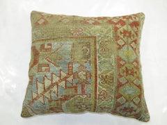 Light Blue Persian Malayer Pillow