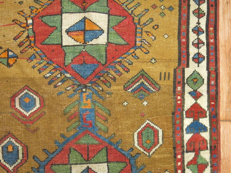 Wool Decorative Persian Bakshaish Serab Narrow Runner For Sale