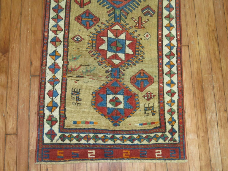 Decorative Persian Bakshaish Serab Narrow Runner For Sale 1