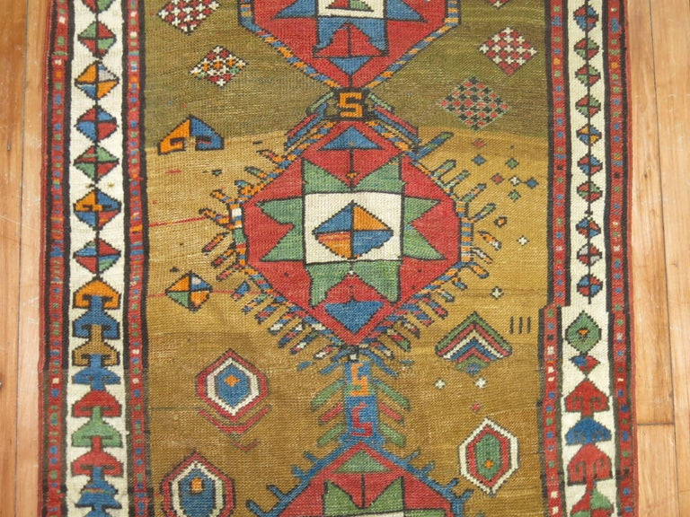 Decorative Persian Bakshaish Serab Narrow Runner For Sale 2