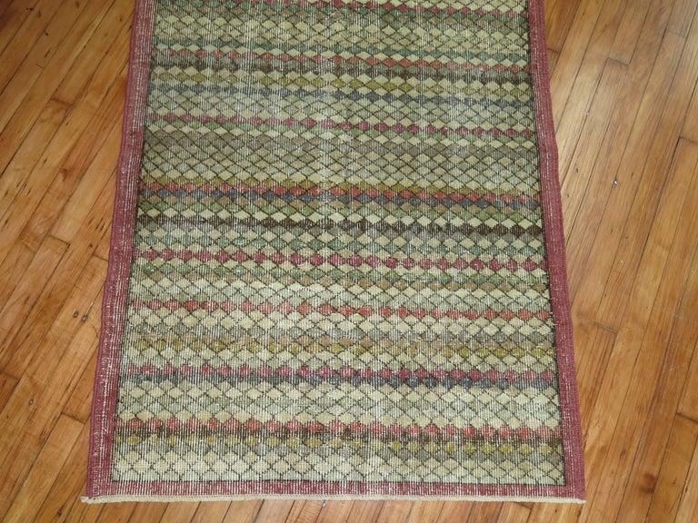 Shabby chic Turkish deco rug.