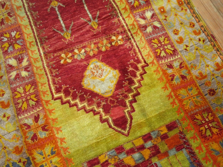 20th Century Vintage Turkish Eclectic Anatolian Rug For Sale